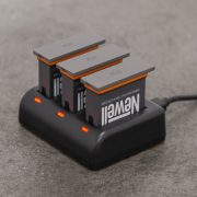 Newell SDC-USB tripple charger for AB1 Osmo Action