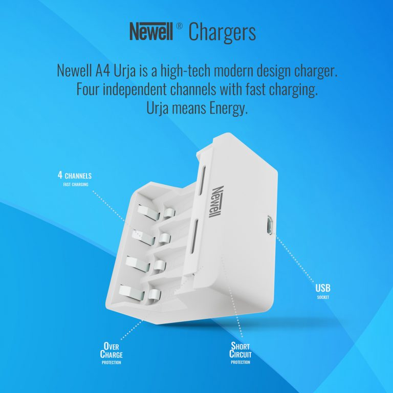 Newell battery charger Urja